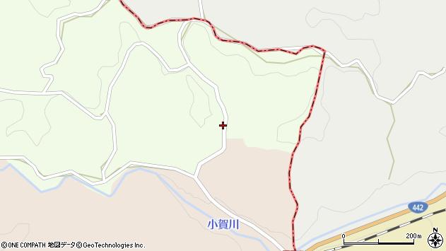 大分県竹田市中1599周辺の地図