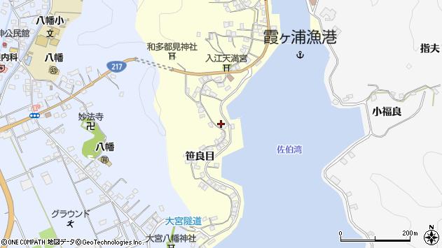大分県佐伯市霞ケ浦239周辺の地図