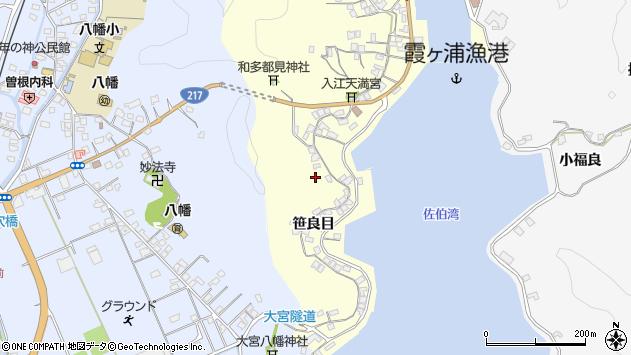 大分県佐伯市霞ケ浦249周辺の地図