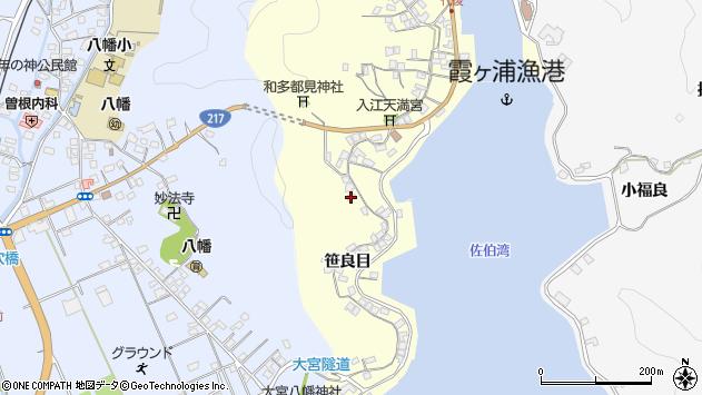 大分県佐伯市霞ケ浦251周辺の地図