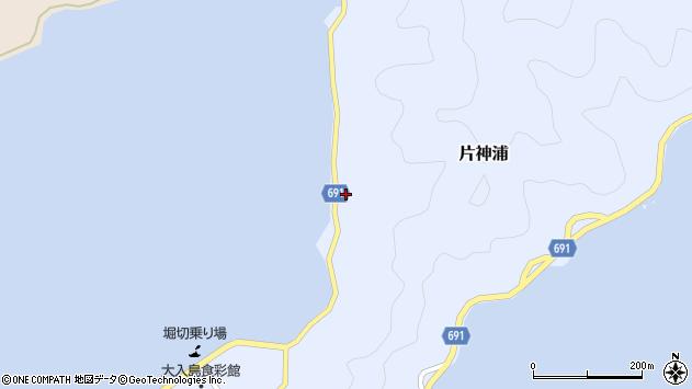 大分県佐伯市片神浦600周辺の地図