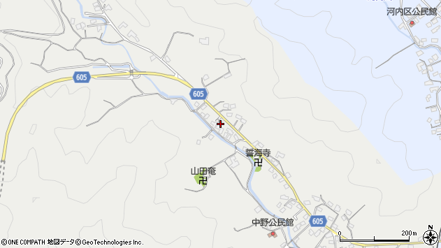大分県佐伯市海崎3197周辺の地図