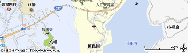 大分県佐伯市霞ケ浦256周辺の地図