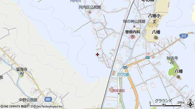 大分県佐伯市戸穴676周辺の地図