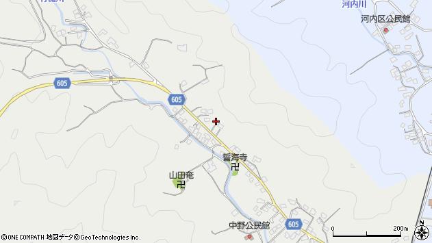 大分県佐伯市海崎3208周辺の地図