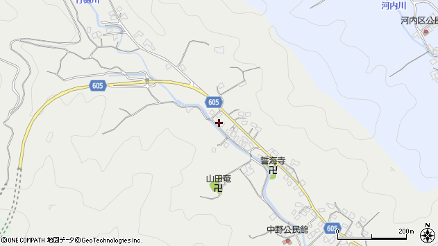 大分県佐伯市海崎3192周辺の地図