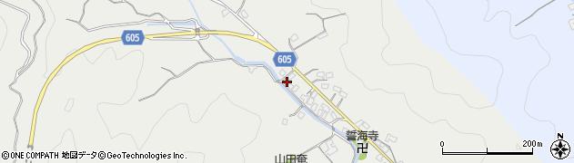 大分県佐伯市海崎3191周辺の地図