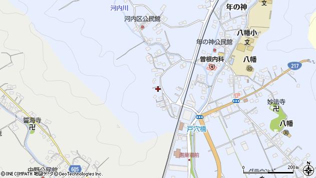 大分県佐伯市戸穴713周辺の地図
