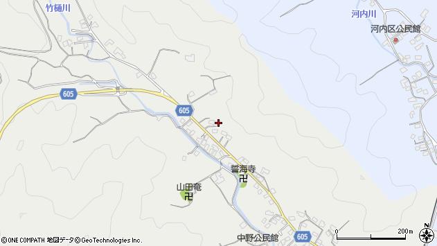 大分県佐伯市海崎3181周辺の地図