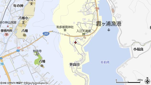 大分県佐伯市霞ケ浦275周辺の地図