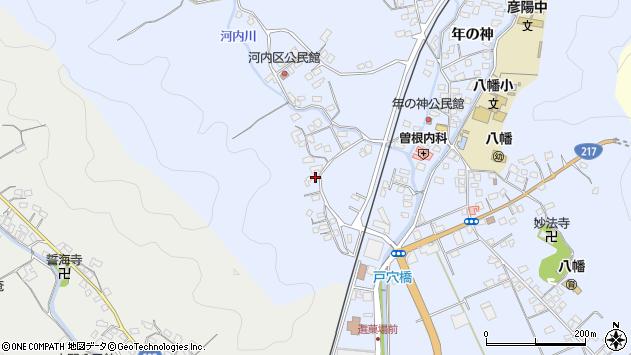 大分県佐伯市戸穴767周辺の地図