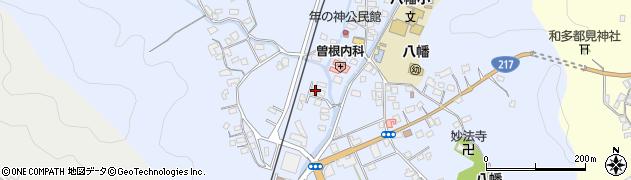 大分県佐伯市戸穴731周辺の地図