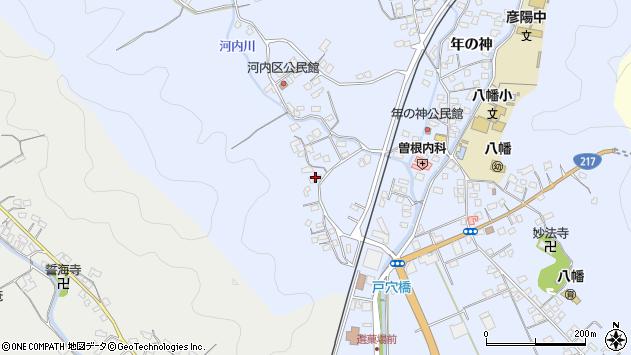 大分県佐伯市戸穴766周辺の地図
