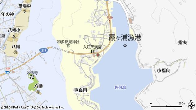大分県佐伯市霞ケ浦303周辺の地図
