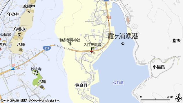 大分県佐伯市霞ケ浦300周辺の地図