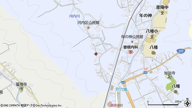 大分県佐伯市戸穴771周辺の地図