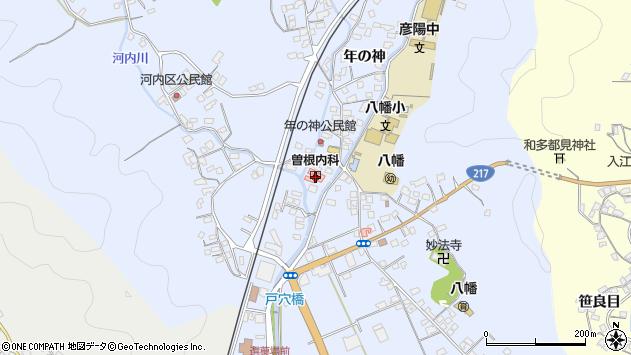 大分県佐伯市戸穴1515周辺の地図