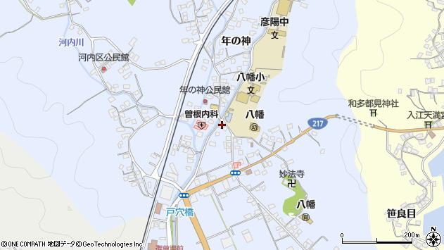 大分県佐伯市戸穴451周辺の地図