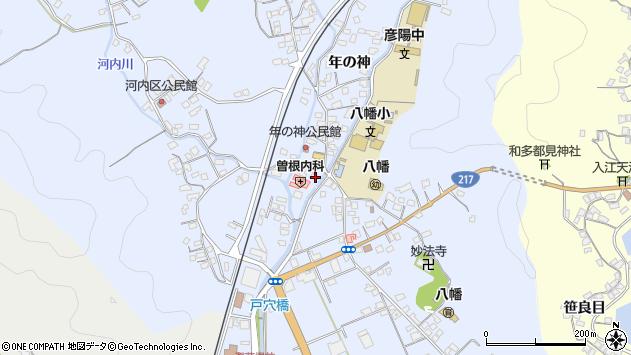 大分県佐伯市戸穴1520周辺の地図