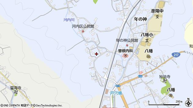 大分県佐伯市戸穴754周辺の地図