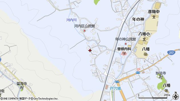 大分県佐伯市戸穴760周辺の地図