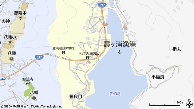 大分県佐伯市霞ケ浦311周辺の地図