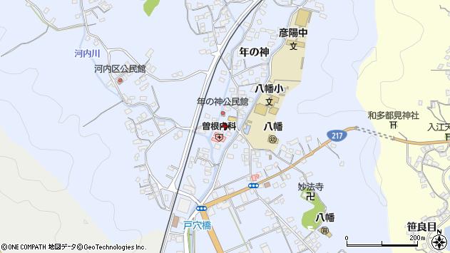 大分県佐伯市戸穴1521周辺の地図