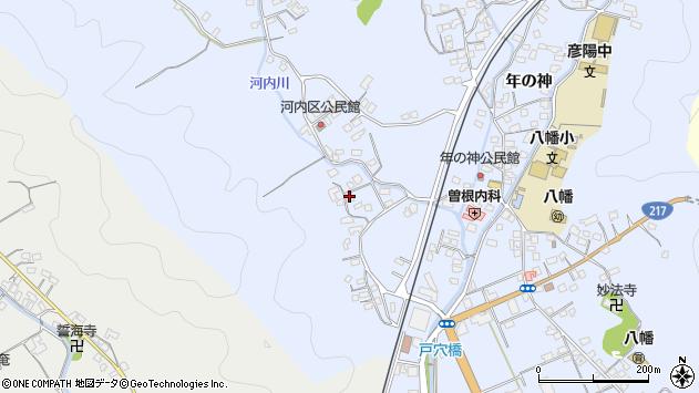 大分県佐伯市戸穴759周辺の地図