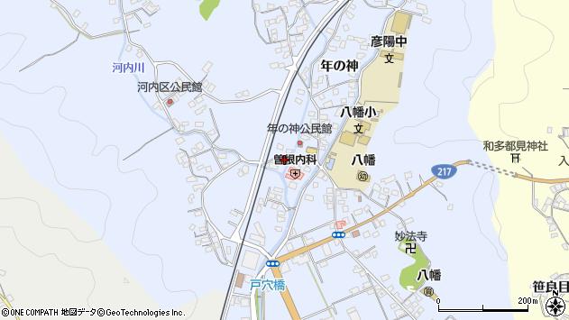 大分県佐伯市戸穴1511周辺の地図