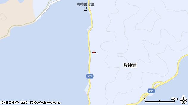 大分県佐伯市片神浦562周辺の地図