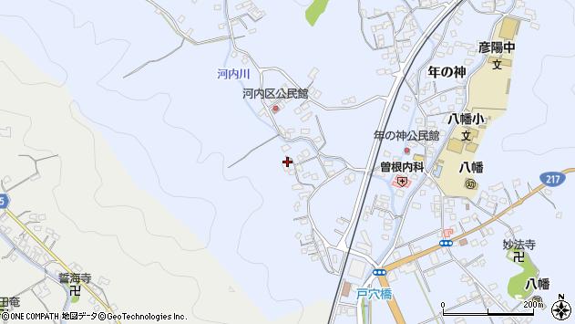 大分県佐伯市戸穴778周辺の地図