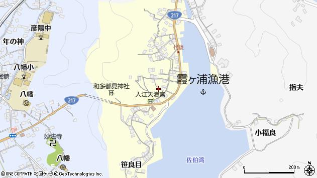 大分県佐伯市霞ケ浦384周辺の地図