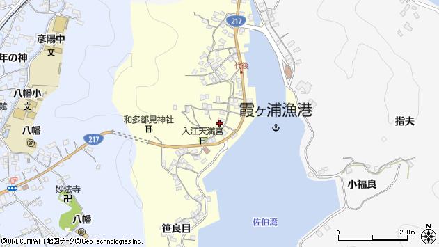 大分県佐伯市霞ケ浦240周辺の地図