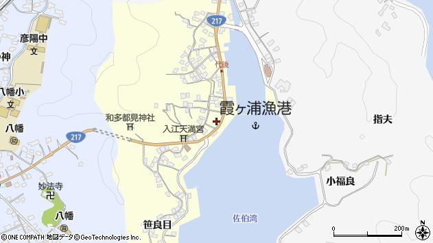 大分県佐伯市霞ケ浦320周辺の地図