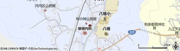 大分県佐伯市戸穴1528周辺の地図