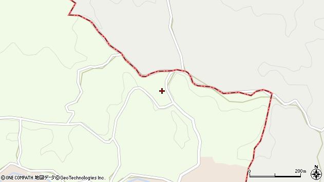 大分県竹田市中1551周辺の地図