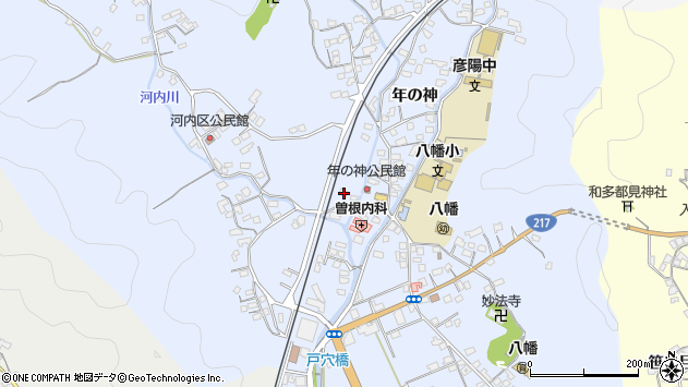 大分県佐伯市戸穴1503周辺の地図