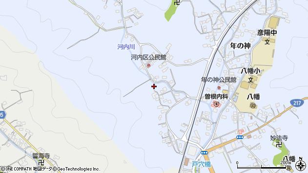 大分県佐伯市戸穴784周辺の地図