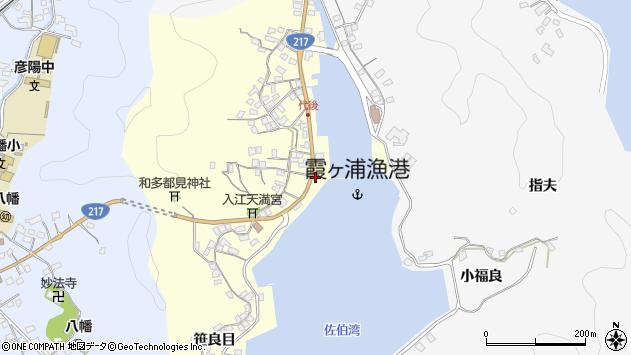 大分県佐伯市霞ケ浦326周辺の地図