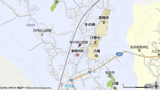 大分県佐伯市戸穴1527周辺の地図