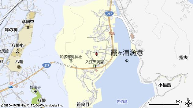大分県佐伯市霞ケ浦400周辺の地図