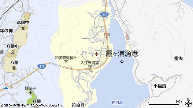 大分県佐伯市霞ケ浦409周辺の地図