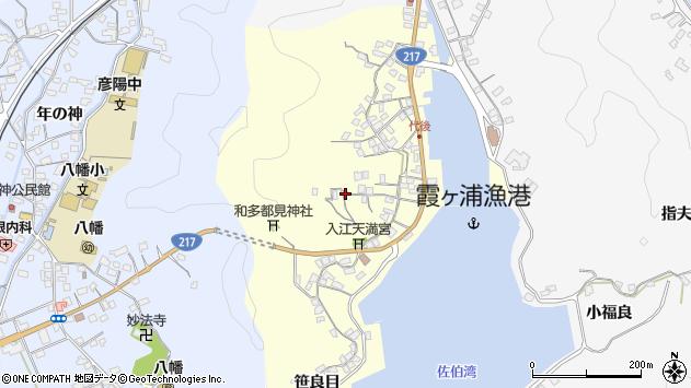大分県佐伯市霞ケ浦391周辺の地図