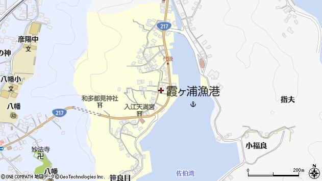 大分県佐伯市霞ケ浦327周辺の地図