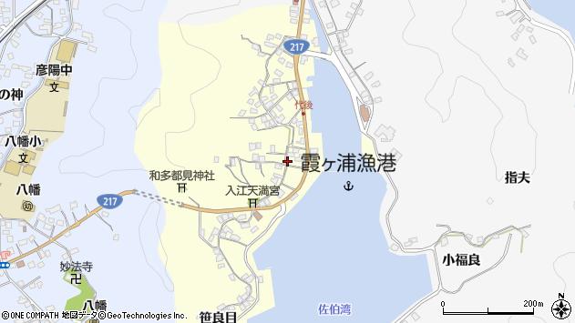 大分県佐伯市霞ケ浦328周辺の地図