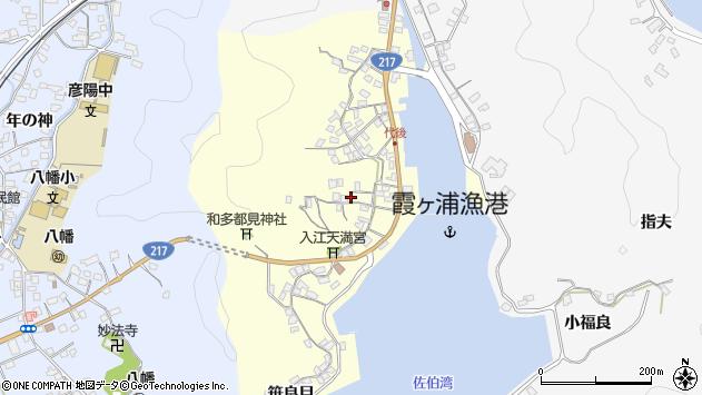 大分県佐伯市霞ケ浦362周辺の地図