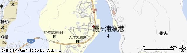 大分県佐伯市霞ケ浦332周辺の地図