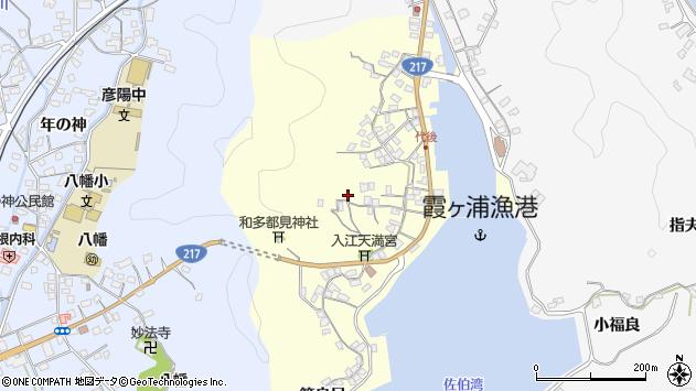 大分県佐伯市霞ケ浦379周辺の地図