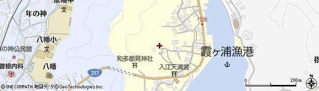 大分県佐伯市霞ケ浦382周辺の地図