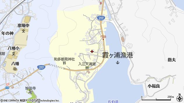 大分県佐伯市霞ケ浦335周辺の地図
